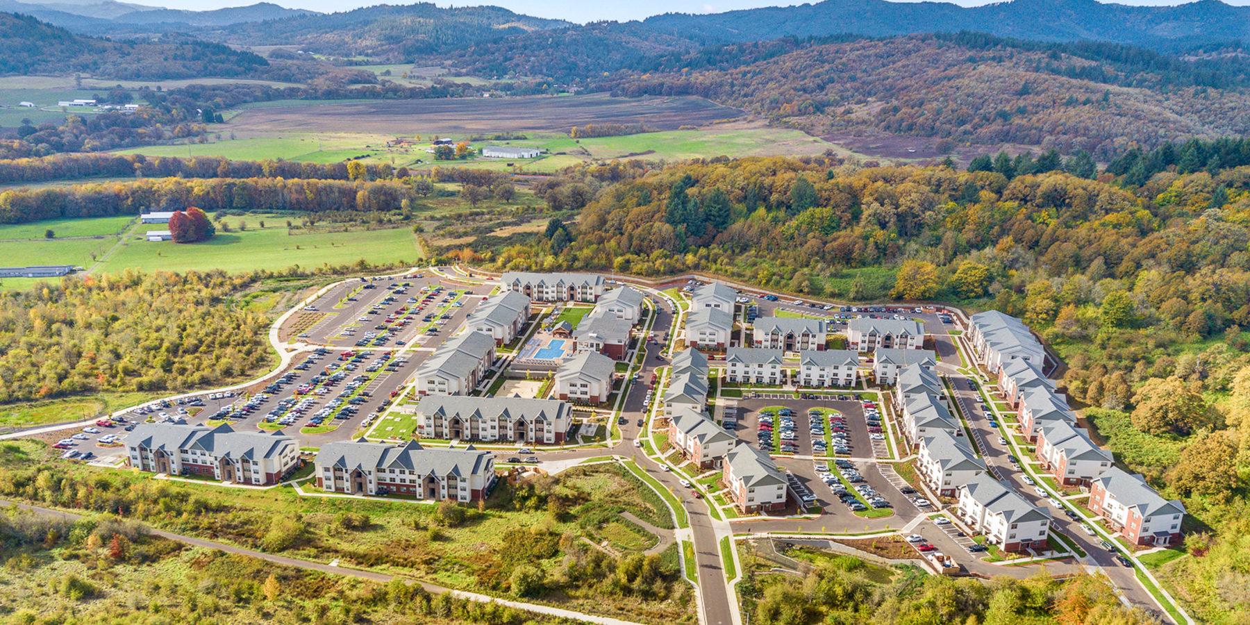 Corvue home aerial